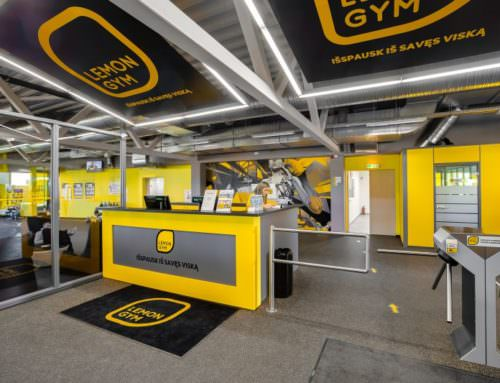 Sport club chain LEMON GYM