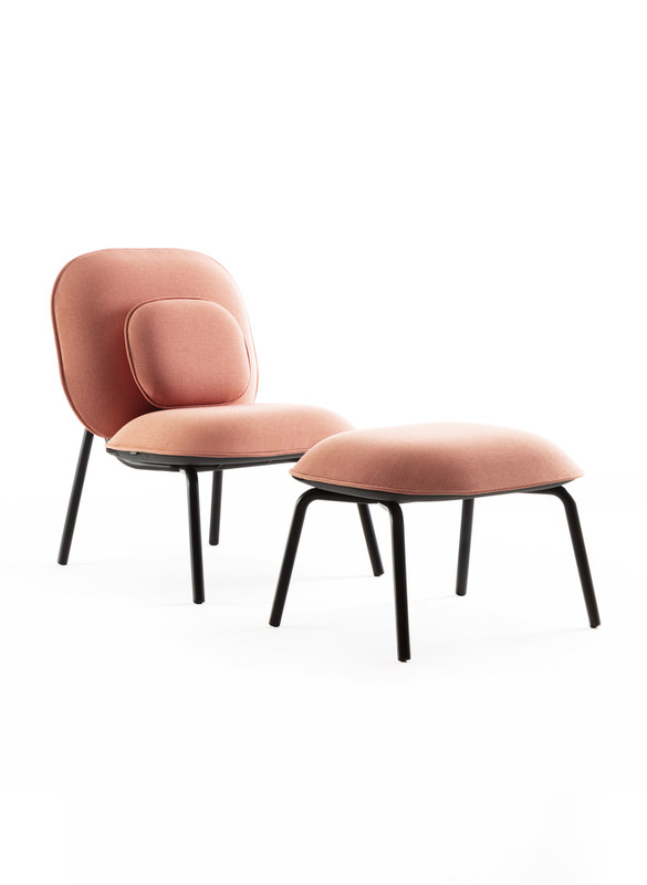 TASCA lounge and ottoman_Gabriel pink 1